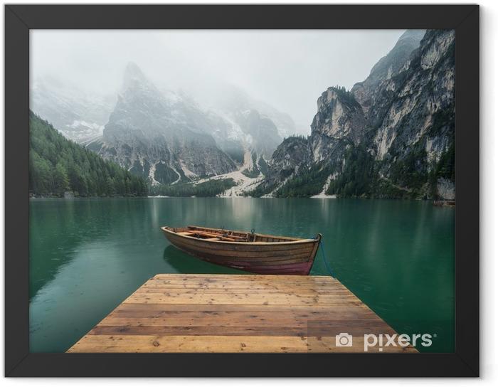 Plakat w ramie Piękny krajobraz natury we włoskich górach - Krajobrazy
