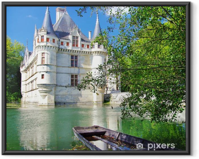 Plakat w ramie Piękna Azey le redeau zamek - Tematy