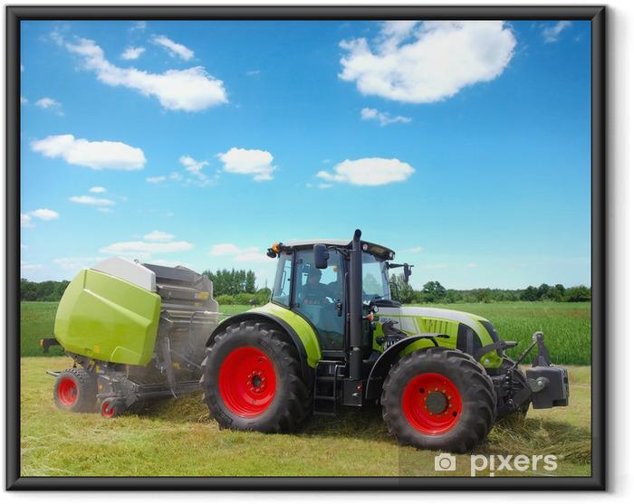 Ingelijste Poster Traktor - Thema's