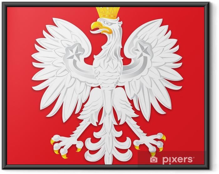 Plakat w ramie Emblem2 - Miasta europejskie