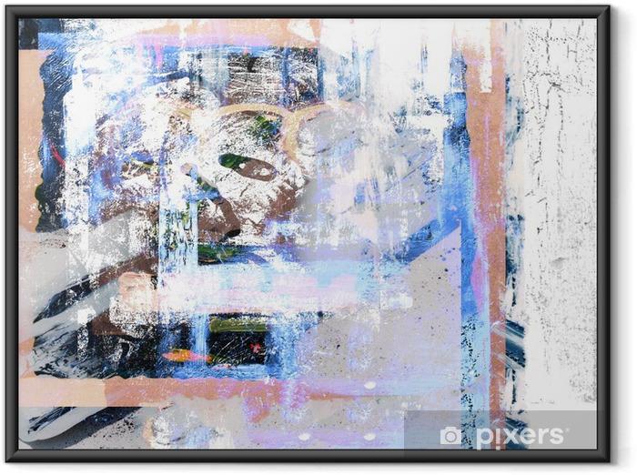 Plakat w ramie Obraz olejny - Sztuka i twórczość
