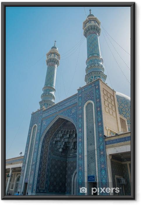 Ingelijste Poster Der Iran - Qom Fatemeh Masumeh Heiligtum - Reizen