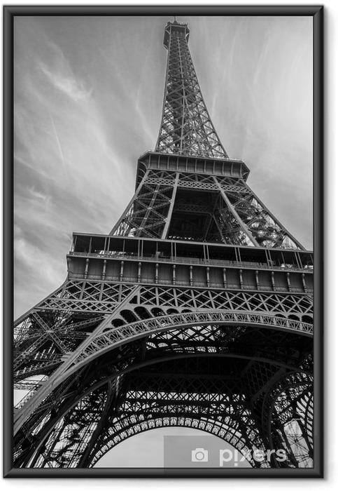 Póster Enmarcado Torre Eiffel - Construcciones y arquitectura