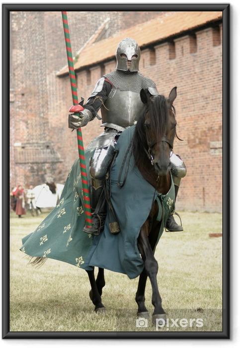 Poster i Ram Riddare på häst - Riddare