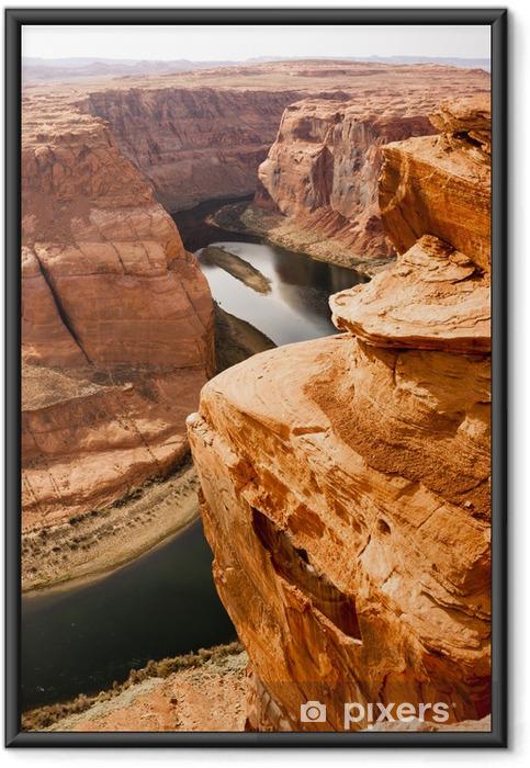Poster i Ram Deep Canyon Coloradofloden Desert South Natural Scenic Lands - Naturens mirakel