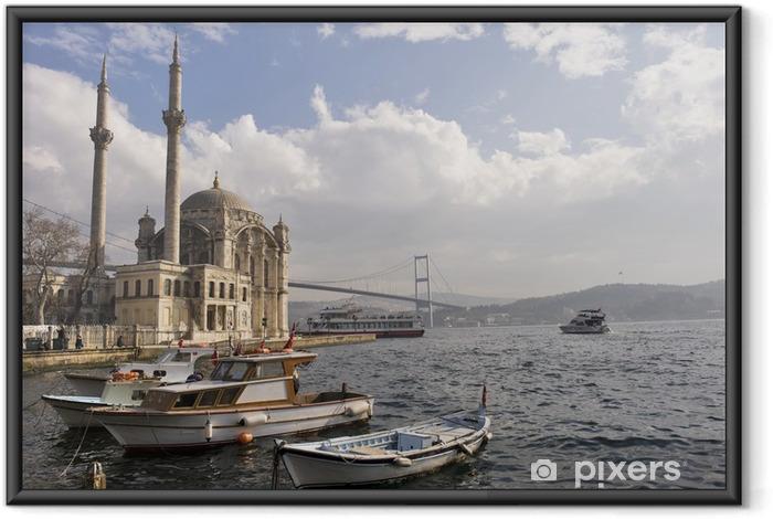 Ingelijste Poster Waar twee continenten ontmoeten: istanbul - Midden Oosten