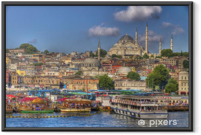 Ingelijste Poster Istanbul, Turkije. - Thema's