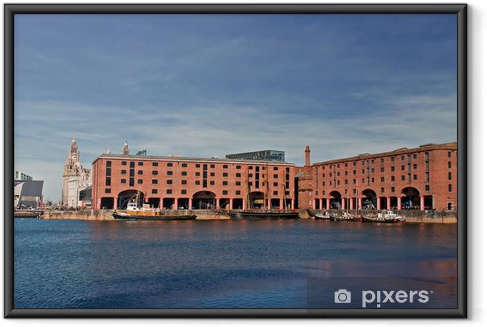 Ingelijste Poster Uitzicht op Albert Dock, Liverpool, UK - Overige