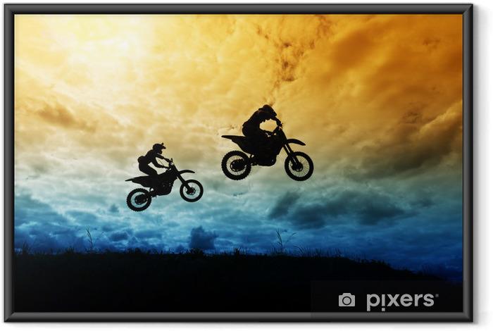 Plakat w ramie Motocross - Motocross - Sporty ekstremalne