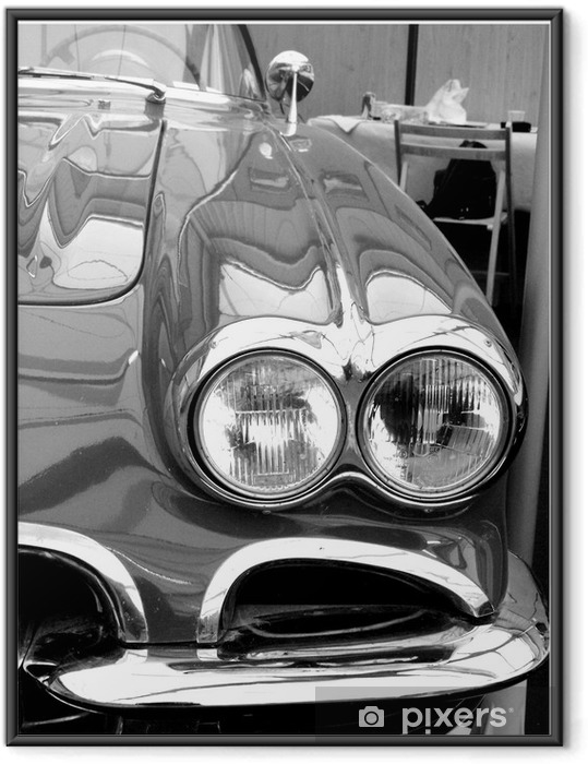 Plakat w ramie Rocznika samochodu -