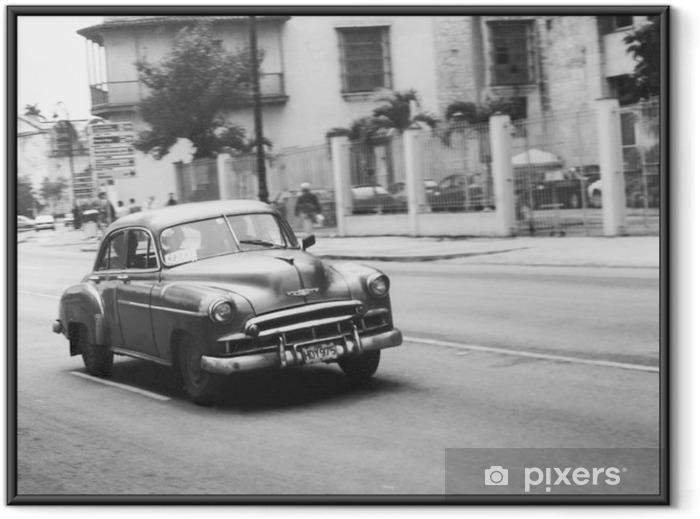Plakat w ramie Oldtimer w kuba - Tematy