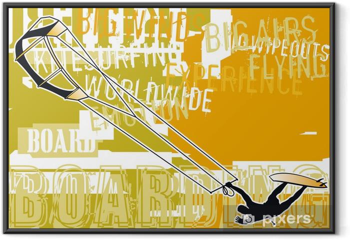 Ingelijste Poster Kitesurf wallpapers - Watersporten