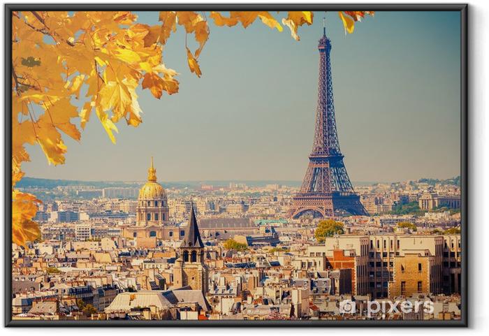Póster Enmarcado Eiffel torre trofeos - Temas