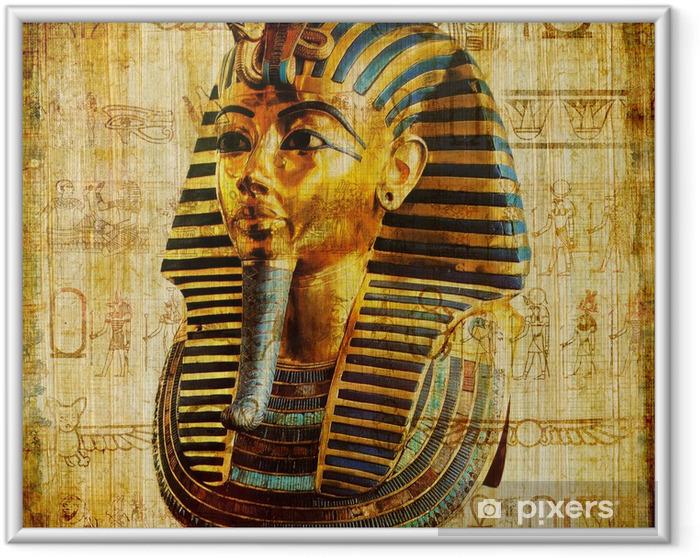 Poster en cadre Vieux papyrus égyptien - Matières premières