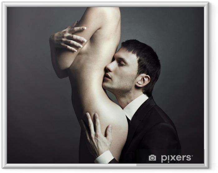 Poster i Ram Unga elegant par - Teman