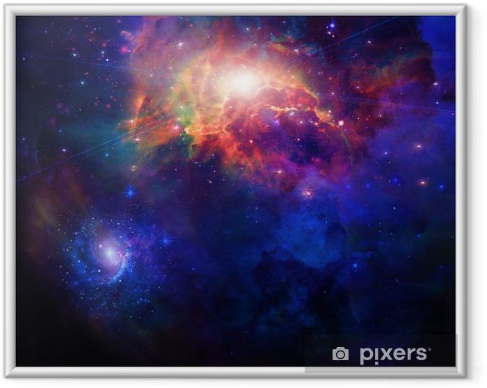 Space Indrammet plakat -
