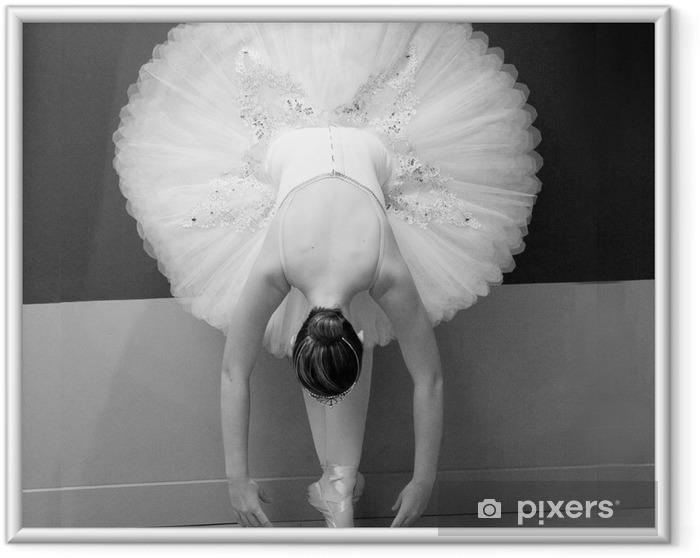 Póster Enmarcado Bailarín - Destinos