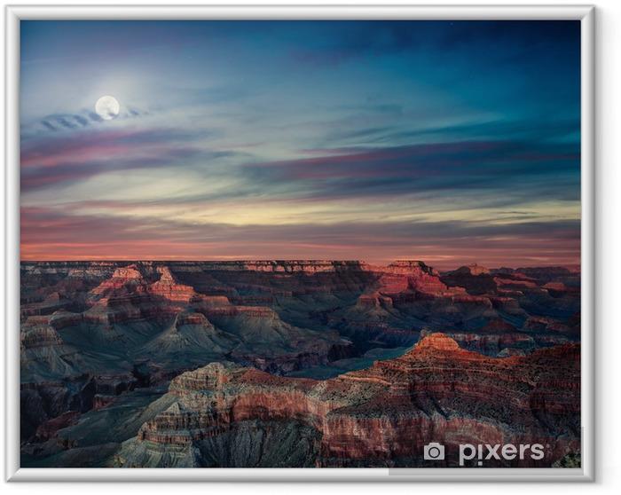 Poster i Ram Grand canyon - Amerika
