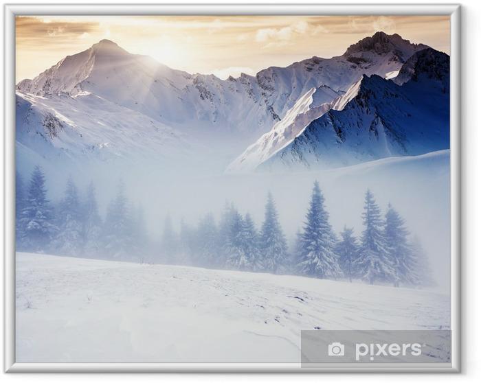 Ingelijste Poster Winter -