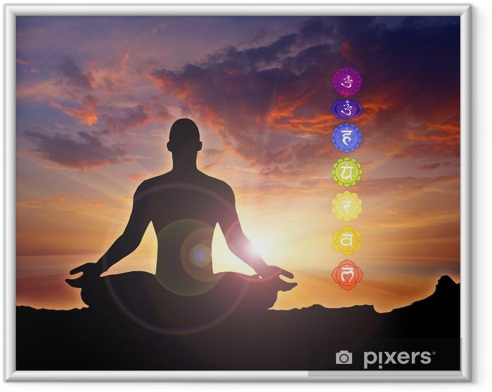 Plakat w ramie Energii i medytacji - Zdrowie