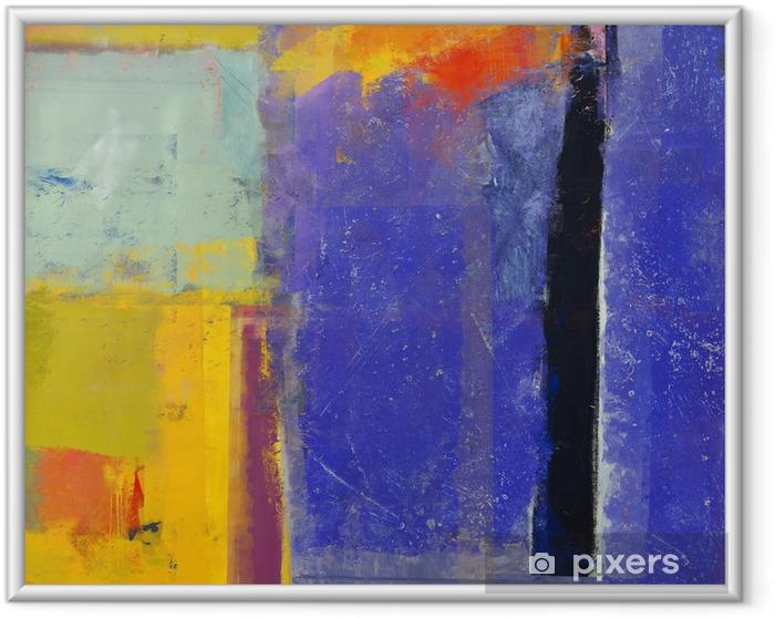 Ingelijste Poster Abstractie - Abstract