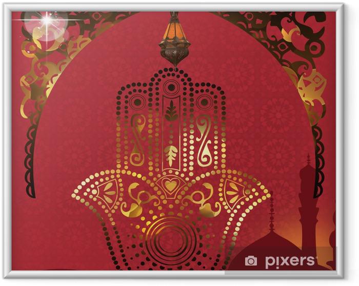 Plakat w ramie Tabela orientalny - Style