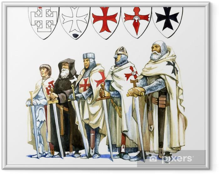 Poster i Ram Templar - Grupper och folkmassor