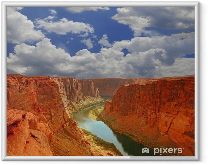 Poster i Ram Vatten i början av Grand Canyon - Natur och vildmark