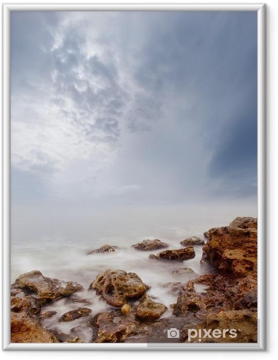Çerçeveli Poster Deniz - Manzaralar