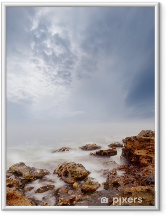 Plakát v rámu Moře - Krajiny