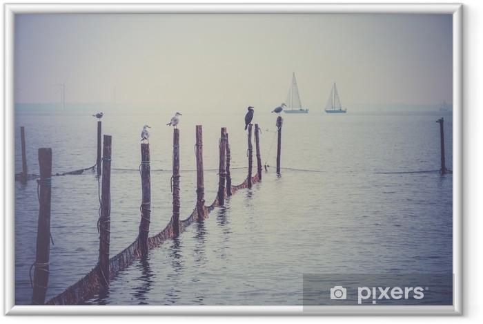Poster en cadre Mer du Nord paysage - Paysages