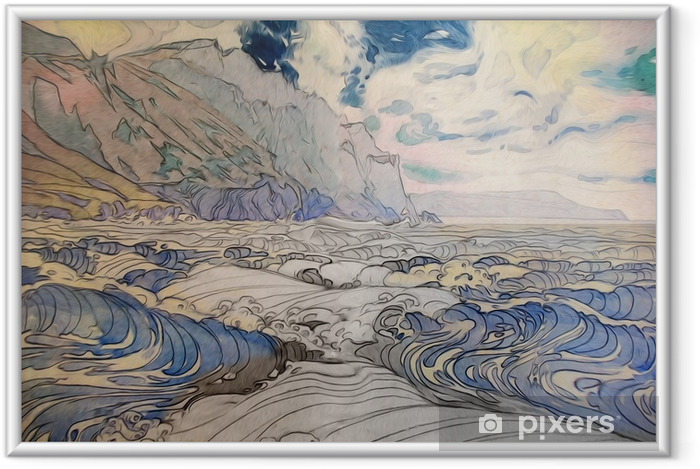 Poster en cadre Морской пейзаж - Paysages