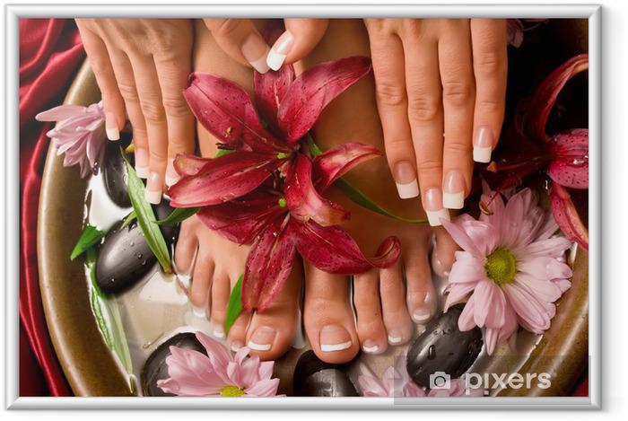 Ingelijste Poster Manicure en pedicure - Bestemmingen