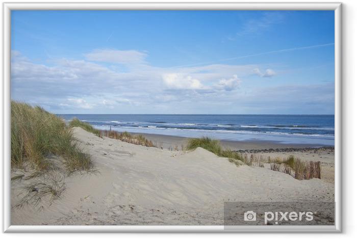Ingelijste Poster Verlaten strand droom - Bestemmingen