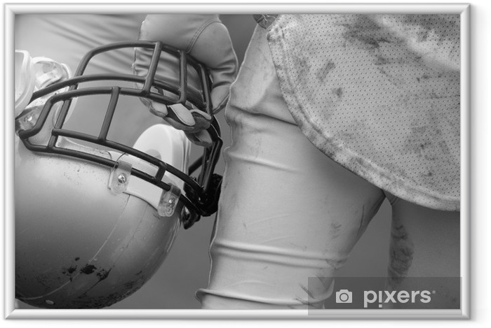 Ingelijste Poster American football - American Football