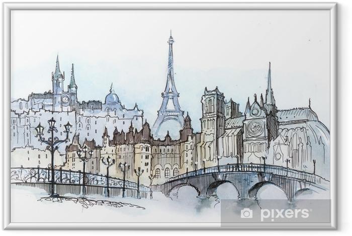 Ingelijste Poster Paris - Thema's