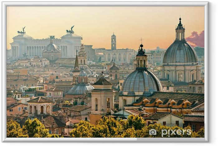 Póster Enmarcado Roma, Italia - Temas