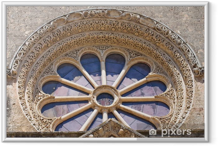 Poster in Cornice Basilica di S. Caterina. Galatina. Puglia. Italia. - Vacanze