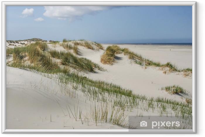 Ingelijste Poster Duinen bij de kust van Nederland - Thema's