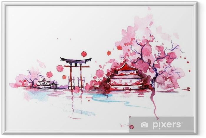 Poster en cadre Japon - Voyage