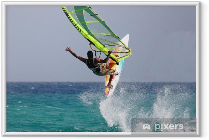 Plakat w ramie Windsurfing - Sporty wodne