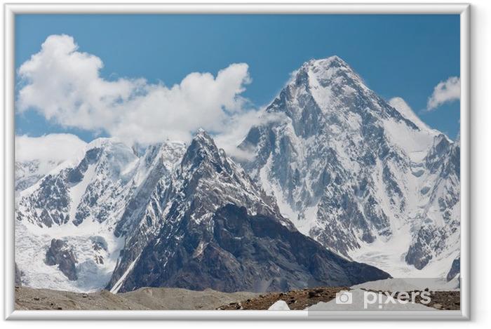 Póster Enmarcado Gasherbrum IV, Karakorum, Pakistán - Temas