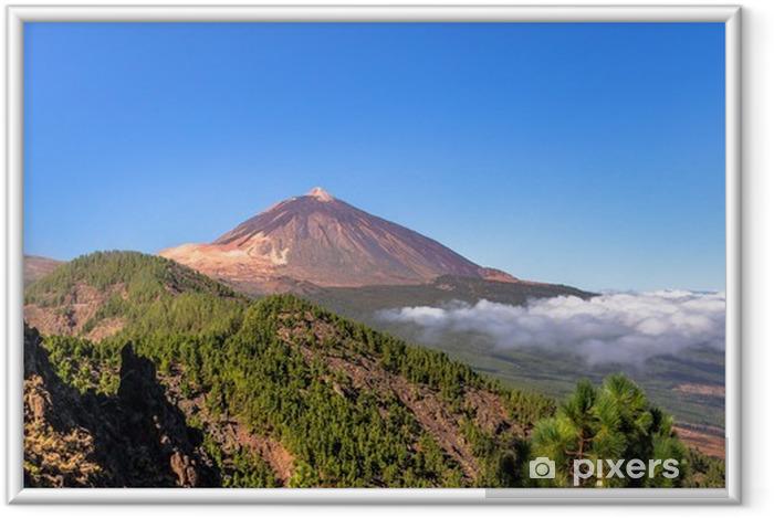 Plakat w ramie Panoramiczny z Teide i dolinę Orotava - Europa