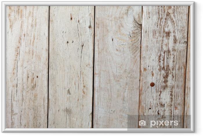 Poster en cadre En bois - Thèmes
