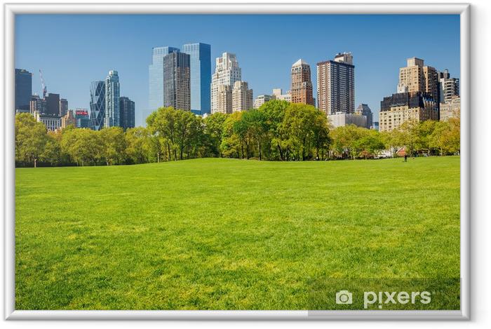Poster en cadre Central parc new york - Thèmes