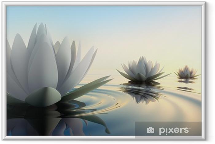 Plakat w ramie Lotus im Zobacz - Religie