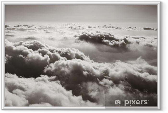 Plakat w ramie Panorama z chmurami - Style