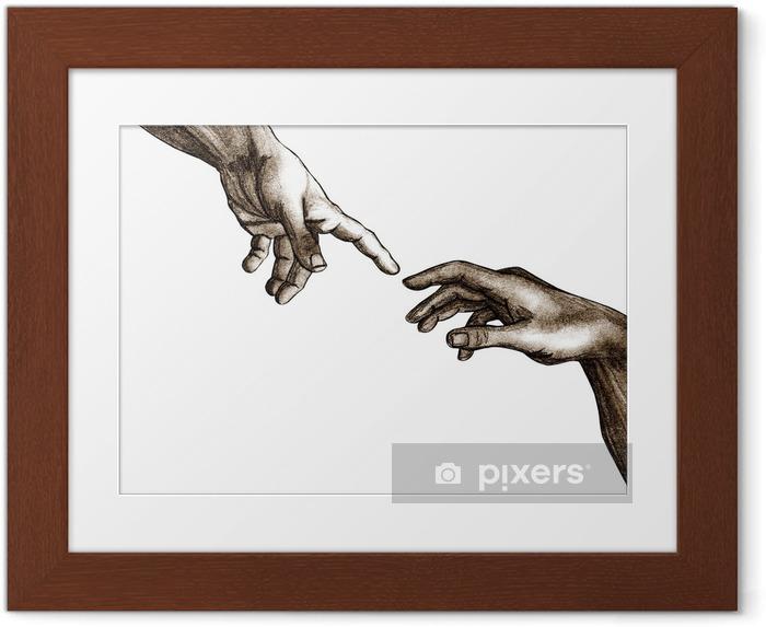 Poster i Ram Guds händer och Adam - Teman