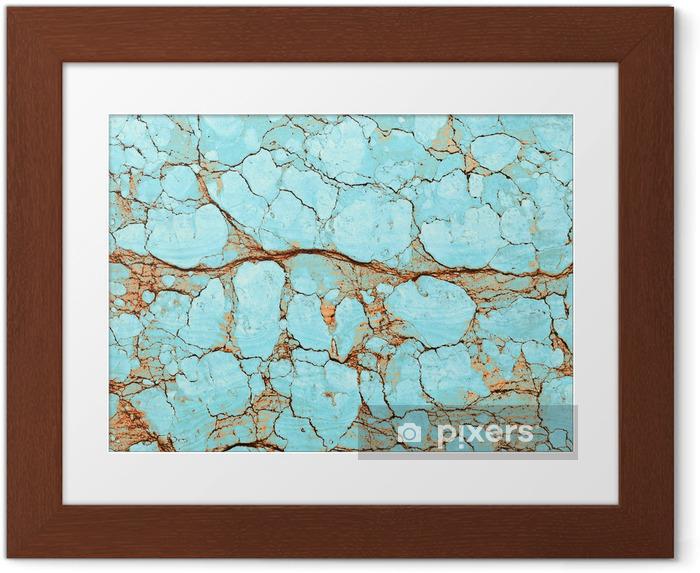 Ingelijste Poster Kleur marmeren textuur - Stijlen