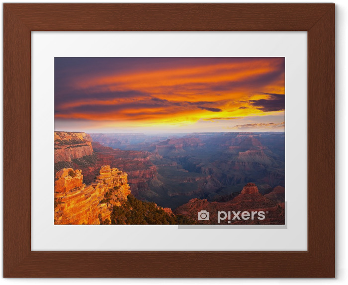 Poster i Ram Grand canyon - Amerika